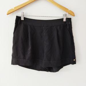 Marciano Black Silk Shorts